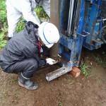 井戸の用途:住宅用井戸 井戸掘り地域:埼玉県狭山市 施工内容:井戸掘り工事と機器設置