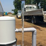 井戸の用途:住宅用井戸 井戸掘り地域:埼玉県川越市 施工内容:井戸掘り工事と機器設置