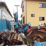 井戸の用途:住宅用井戸 井戸掘り地域:埼玉県所沢市 施工内容:井戸掘り工事と機器設置