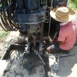 井戸の用途:農業用井戸 井戸掘り地域:埼玉県比企郡鳩山町 施工内容:井戸掘り工事と機器設置
