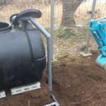 井戸の用途:農業用井戸 井戸掘り地域:埼玉県坂戸市 施工内容:井戸掘り工事と機器設置