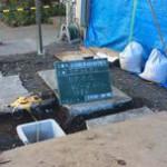 井戸の用途:事務所用井戸 井戸掘り地域:埼玉県さいたま市 施工内容:井戸掘り工事と機器設置